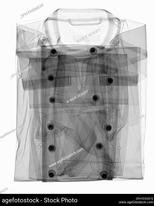 Chef's shirt, X-ray