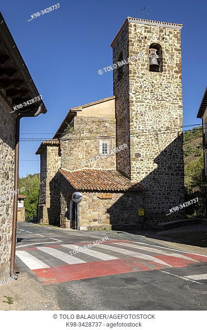 iglesia de Nuestra Señora de la Asunción, siglo XVI, Cabezón de Cameros, La Rioja , Spain, Europe