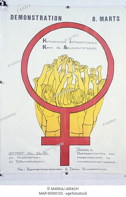 poster, Women's Day, March 8