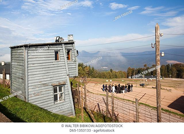France, Bas-Rhin, Alsace Region, Natzwiller, Le Struthof former Nazi Concentration Camp, only Nazi-run camp on French territory in World War Two, camp overview