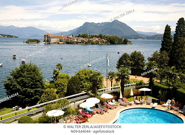 Stresa and Isola Bella, Lago Maggiore. Piedmont, Italy