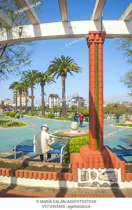 Piquio Gardens. El Sardinero, Santander, Spain