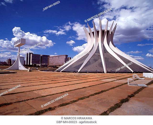 Metropolitan Cathedral Our Lady Aparecida, Brasília, Federal District