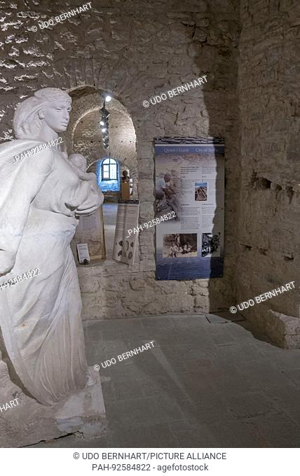 Gjirokastër city in southern Albania UNESCO World Heritage sites May 2017 - Ethnographical Museum | usage worldwide. - Gjirokastra/Gjirokastra/Albania