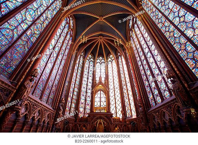 Sainte Chapelle. Paris. France