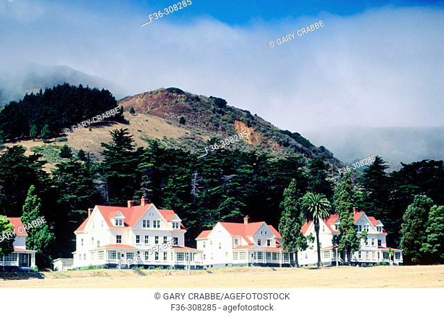 Fort Baker in Golden Gate National Recreation Area. Marin County. California, USA