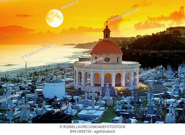 CHAPEL SANTA MARIA MAGDALENA DE PAZZIS CEMETERY OLD TOWN SAN JUAN PUERTO RICO