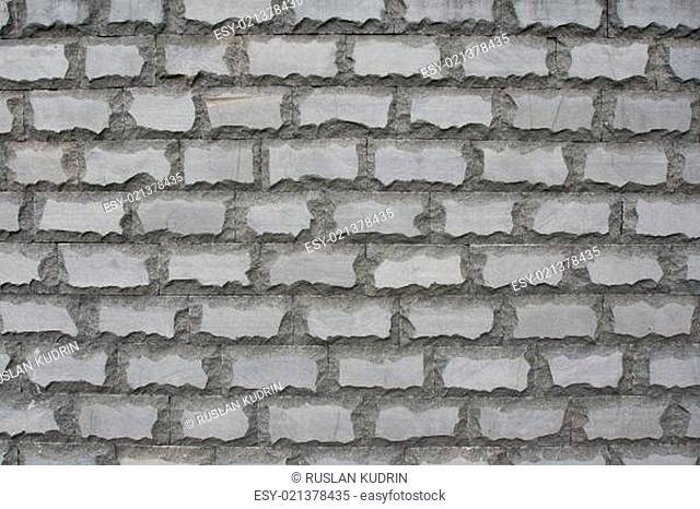 Sulfuric brick wall