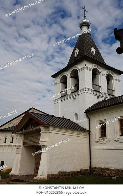 Russia, Europe, World Heritage sites of UNESCO, Tourism and Travel, Ferapontov monastery, Religion, Christian