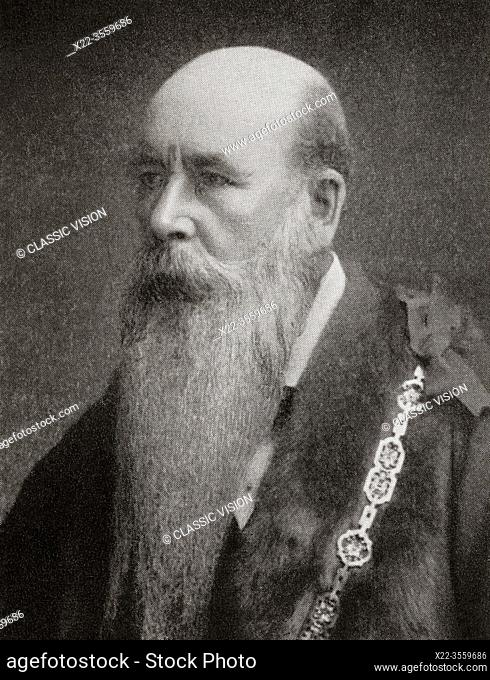 """Sir John Aird, 1st Baronet, 1833 â. """" 1911. English civil engineering contractor and a Conservative Member of Parliament"""