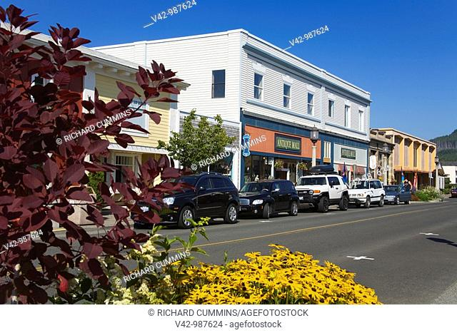 Downtown Seaside shopping district