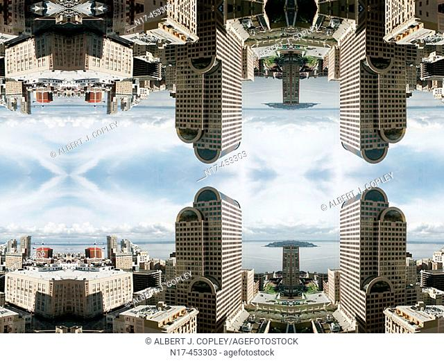 kaleidoscope pattern, Seattle, Washington