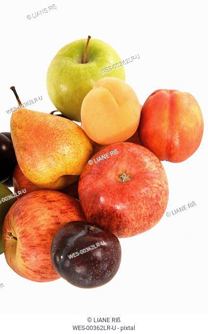 Variety of fruits, close-up