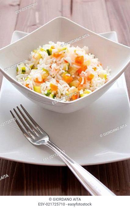 Basmati Rice with veggies
