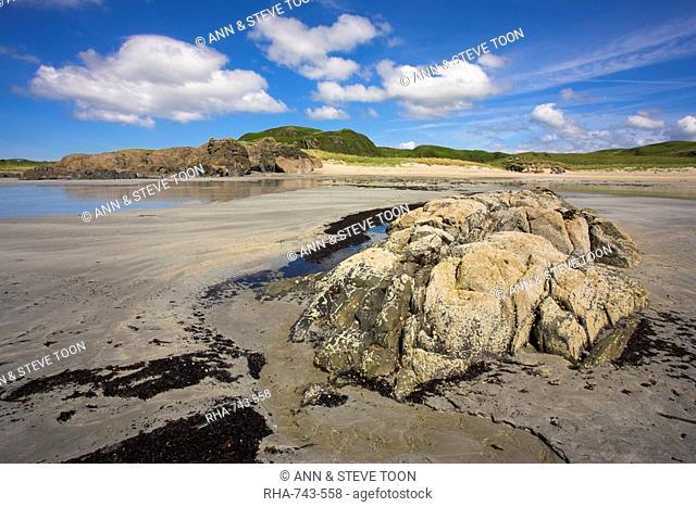 Ardalanish beach, Isle of Mull, Inner Hebrides, Scotland, United Kingdom, Europe