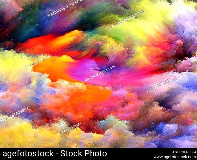 Fractal Paint Abstraction