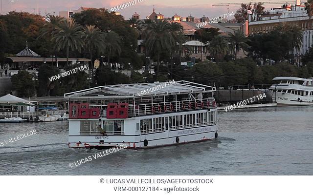 Guadalquivir river, Sevilla, Andalucia