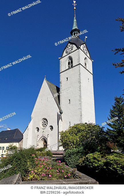 Parish church of St. Thomas of Canterbury in Althofen, Carinthia, Austria, Europe