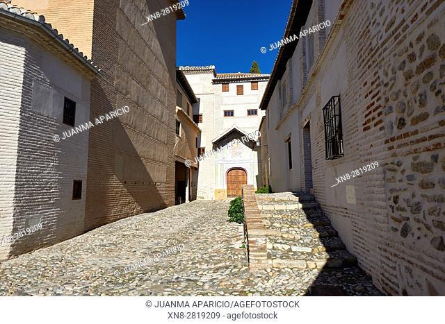 Monasterio Santa Isabel la Real, Granada, Andalusia, Spain, Europe