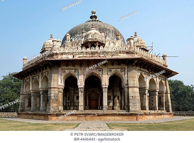 Isa Khan's Garden Tomb, Humayun's Tomb, New Delhi, India