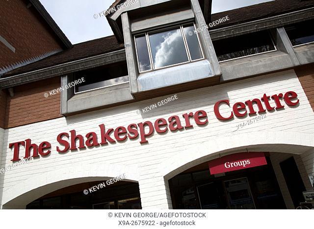 Shakespeare Centre; Henley Street; Stratford Upon Avon; England; UK