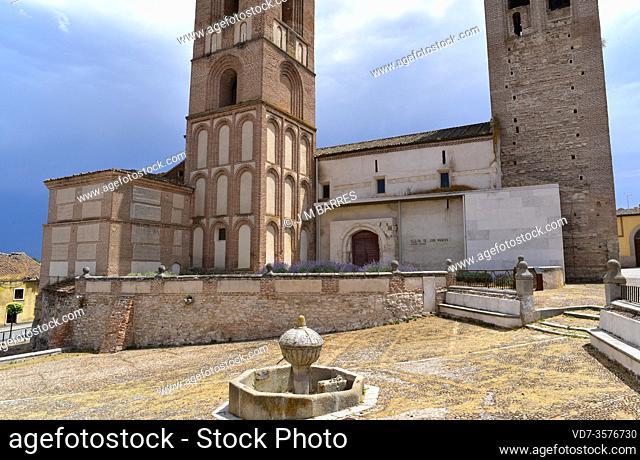 Arevalo, San Martin church. Avila province, Castilla y Leon, Spain
