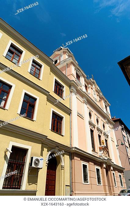 Christian building, Sarajevo, capital of Bosnia and Herzegovina, Europe