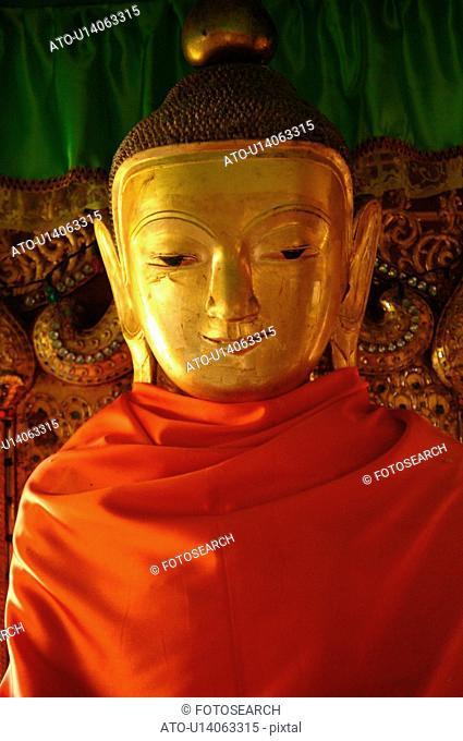 Close up of a Buddha