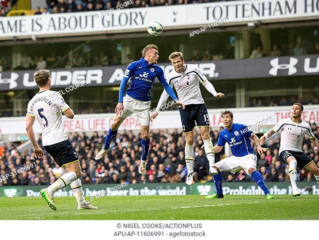 2015 Barclays Premier League Tottenham v Leicester Mar 21st. 21.03.2015. London, England. Barclays Premier League. Tottenham Hotspur versus Leicester