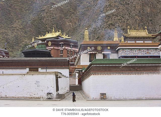 Labrang Monastery, Xiahe, Gansu, China