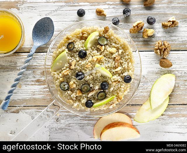 quinoa matinal / morning quinoa
