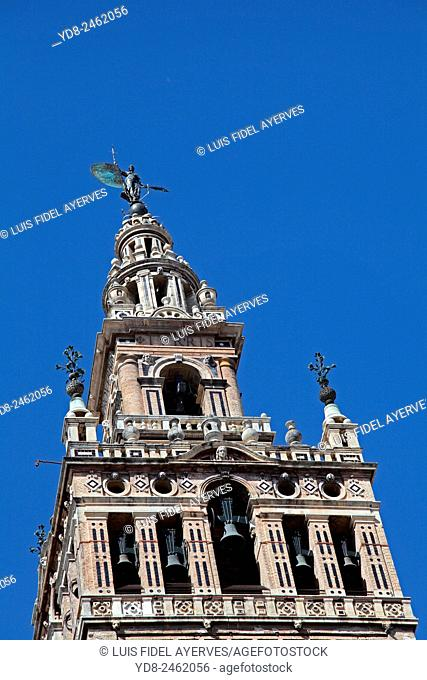 Tower of the Cathedral of Seville, La Giralda, Spain