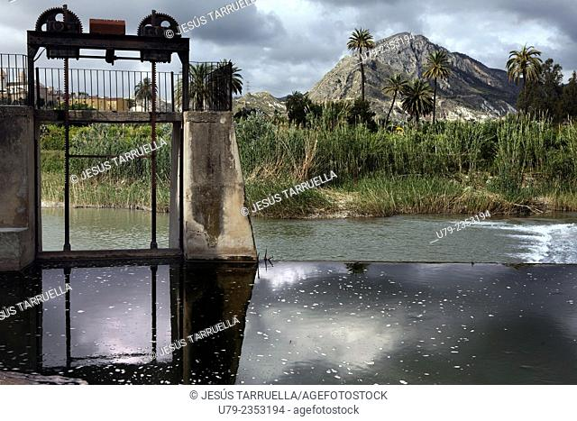 Abandonned hydroelectric plant. Ulea, Villanueva, Archena, Murcia, España,