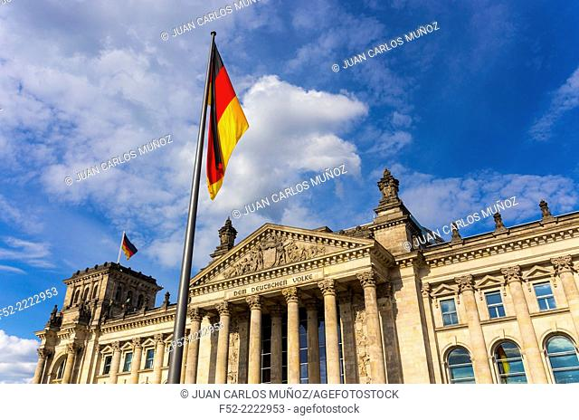 The Reichstag Building, Berlin, Germany, Europe