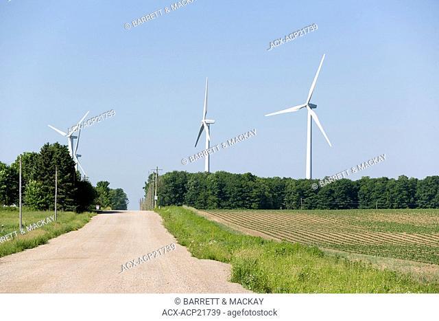 wind turbines, Shellburne, Ontario, Canada, wind energy, alternate energy