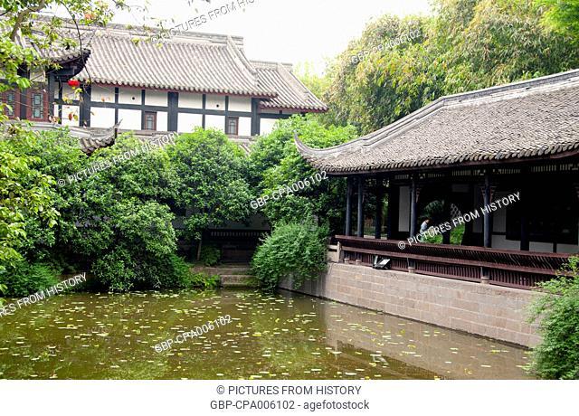 China: Wuhou Ci (Wuhou Ancestral or Memorial Hall), Chengdu, Sichuan Province