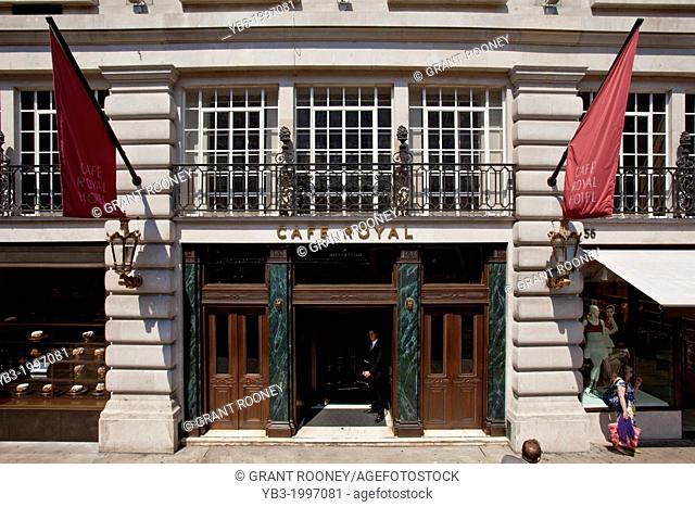 Cafe Royal, Regent Street, London, England