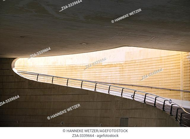 Calatrava road in Valencia, Spain, Europe