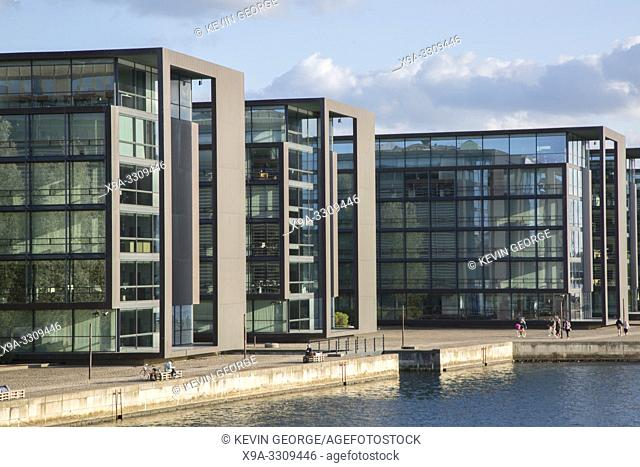 Office Buildings, Quay at Christianshavn; Copenhagen; Denmark