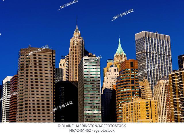 Lower Manhattan, New York, New York USA