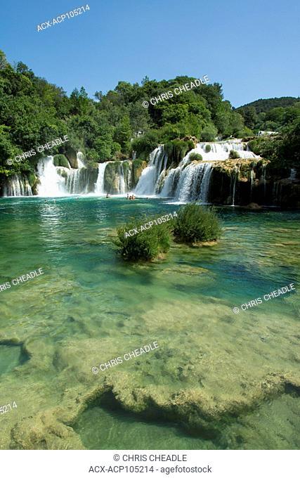 Krka National Park, Krka waterway, Croatia