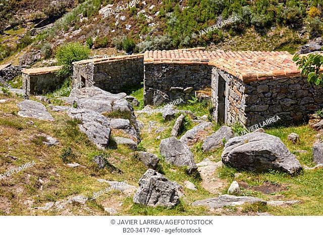 Muíños do Folón e do Picón, Picón and Folón mills, O Rosal, Pontevedra, Galicia, Spain