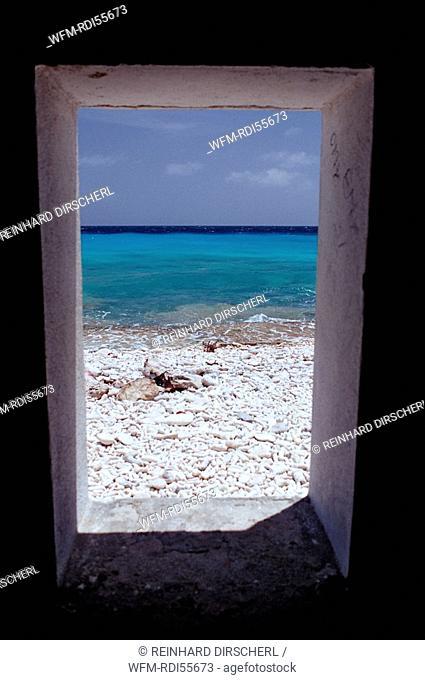 Slave huts White Slave, Bonaire, Netherlands Antilles, Bonaire