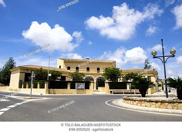 antigua escola Graduada, Ses Salines, Mallorca, balearic islands, Spain