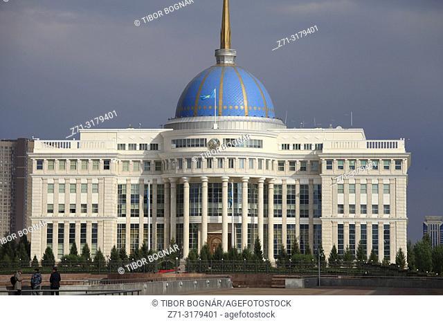 Kazakhstan; Astana; Ak Orda, Presidential Palace,