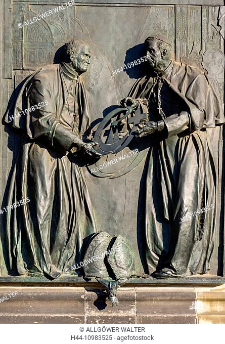 relief on Cologne Cathedral