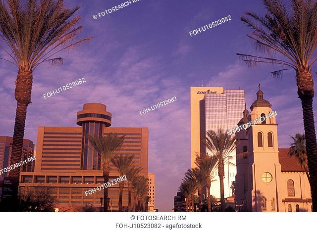 Phoenix, AZ, Arizona, downtown, St. Mary's Basilica