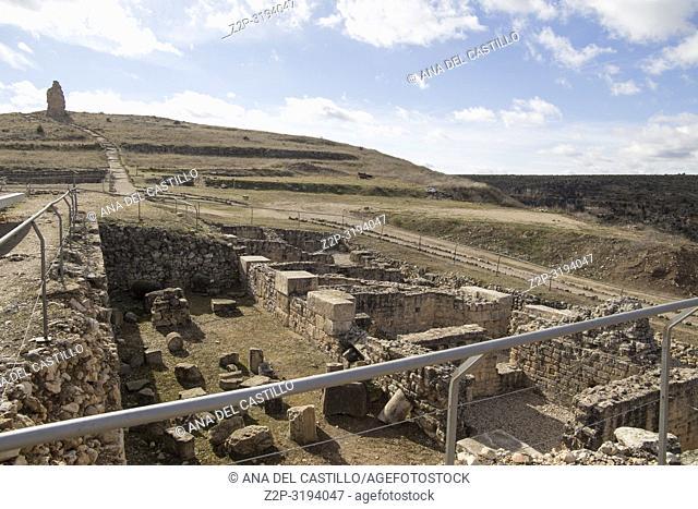 Roman ruins of Valeria Castile La Mancha Cuenca Spain