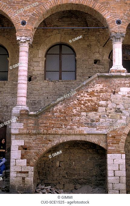 Municipal palace, Suvereto, Tuscany, Italy
