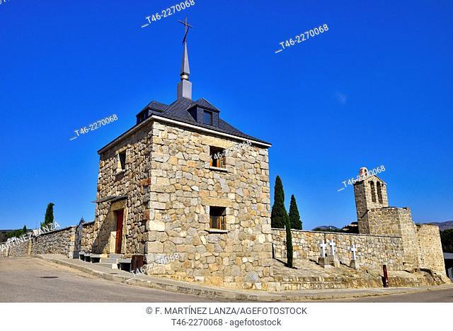 Ermita de San Vicente, Colmenar del Arroyo, Madrid province, Spain